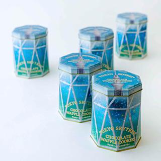 東京スカイツリー ワッフルクッキー缶の画像