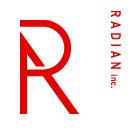 株式会社ラジアンのロゴ
