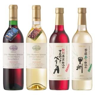 赤ワイン&白ワインの画像