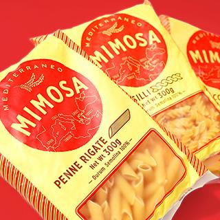 MIMOSA パスタシリーズの画像
