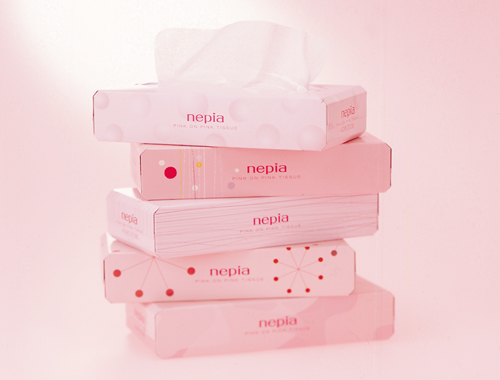 ネピア ピンク オン ピンクの画像